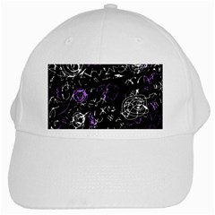 Abstract mind - purple White Cap