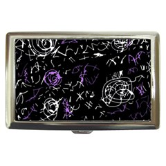 Abstract mind - purple Cigarette Money Cases