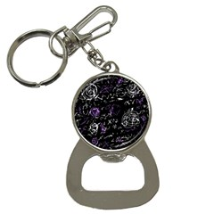 Abstract mind - purple Button Necklaces