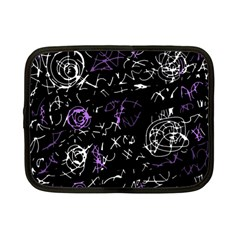 Abstract mind - purple Netbook Case (Small)