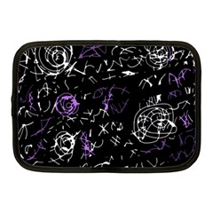 Abstract mind - purple Netbook Case (Medium)