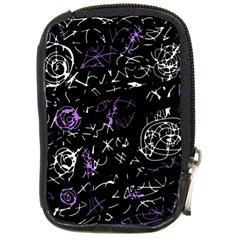 Abstract mind - purple Compact Camera Cases