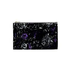 Abstract mind - purple Cosmetic Bag (Small)