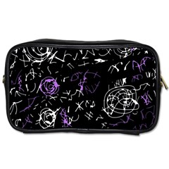 Abstract mind - purple Toiletries Bags