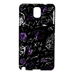 Abstract mind - purple Samsung Galaxy Note 3 N9005 Hardshell Case