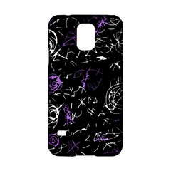 Abstract mind - purple Samsung Galaxy S5 Hardshell Case