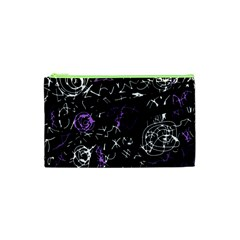 Abstract mind - purple Cosmetic Bag (XS)