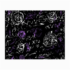 Abstract mind - purple Small Glasses Cloth (2-Side)