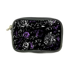 Abstract mind - purple Coin Purse