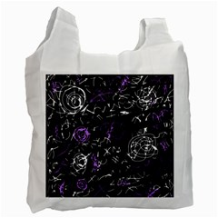 Abstract mind - purple Recycle Bag (One Side)