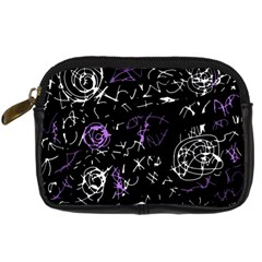 Abstract mind - purple Digital Camera Cases