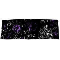 Abstract mind - purple Body Pillow Case Dakimakura (Two Sides)