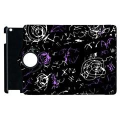 Abstract mind - purple Apple iPad 2 Flip 360 Case