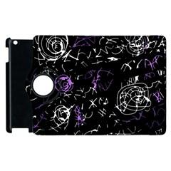 Abstract mind - purple Apple iPad 3/4 Flip 360 Case