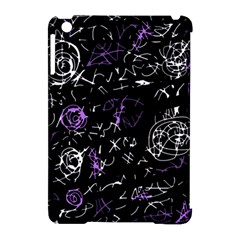 Abstract mind - purple Apple iPad Mini Hardshell Case (Compatible with Smart Cover)
