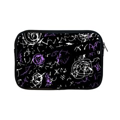Abstract mind - purple Apple iPad Mini Zipper Cases