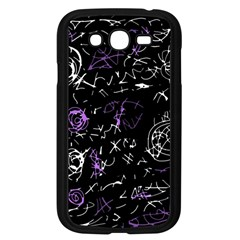Abstract mind - purple Samsung Galaxy Grand DUOS I9082 Case (Black)