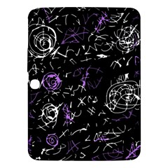 Abstract mind - purple Samsung Galaxy Tab 3 (10.1 ) P5200 Hardshell Case