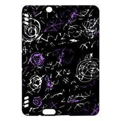 Abstract mind - purple Kindle Fire HDX Hardshell Case