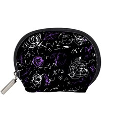 Abstract mind - purple Accessory Pouches (Small)