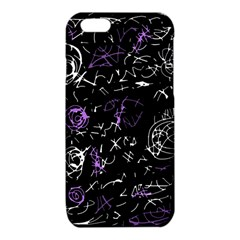 Abstract mind - purple iPhone 6/6S TPU Case