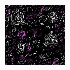 Abstract Mind   Magenta Medium Glasses Cloth (2 Side)