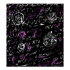 Abstract mind - magenta Shower Curtain 66  x 72  (Large)