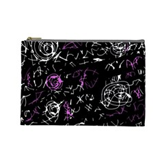 Abstract mind - magenta Cosmetic Bag (Large)