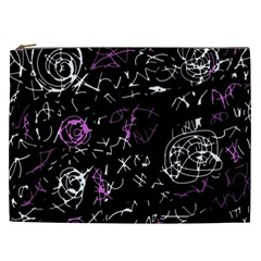 Abstract mind - magenta Cosmetic Bag (XXL)