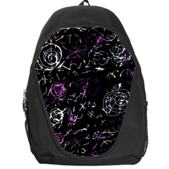 Abstract mind - magenta Backpack Bag