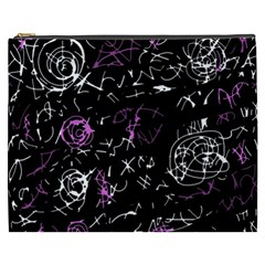 Abstract mind - magenta Cosmetic Bag (XXXL)