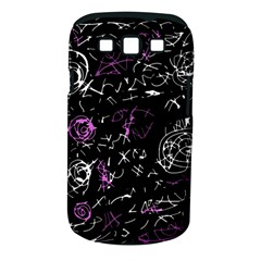 Abstract mind - magenta Samsung Galaxy S III Classic Hardshell Case (PC+Silicone)