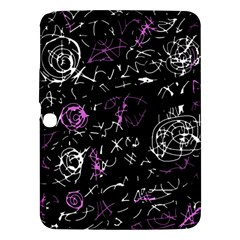 Abstract mind - magenta Samsung Galaxy Tab 3 (10.1 ) P5200 Hardshell Case