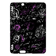 Abstract mind - magenta Kindle Fire HDX Hardshell Case