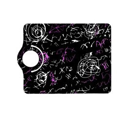 Abstract mind - magenta Kindle Fire HD (2013) Flip 360 Case