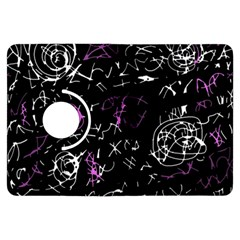 Abstract mind - magenta Kindle Fire HDX Flip 360 Case