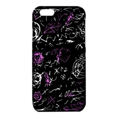 Abstract mind - magenta iPhone 6/6S TPU Case
