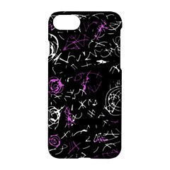 Abstract Mind   Magenta Apple Iphone 7 Hardshell Case