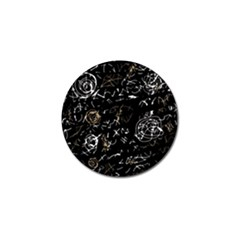 Abstract mind - brown Golf Ball Marker (10 pack)