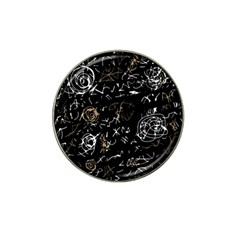 Abstract mind - brown Hat Clip Ball Marker (4 pack)