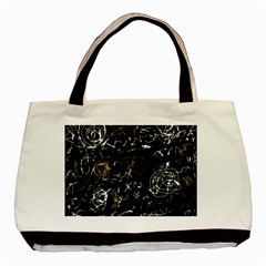 Abstract mind - brown Basic Tote Bag