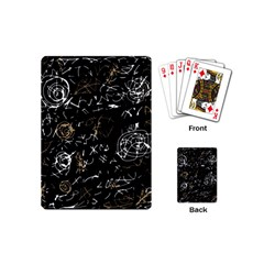 Abstract mind - brown Playing Cards (Mini)