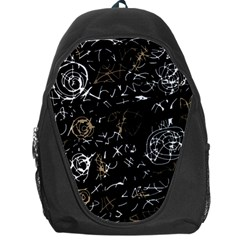Abstract mind - brown Backpack Bag