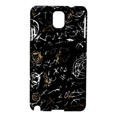 Abstract mind - brown Samsung Galaxy Note 3 N9005 Hardshell Case
