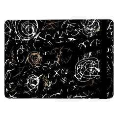 Abstract mind - brown Samsung Galaxy Tab Pro 12.2  Flip Case
