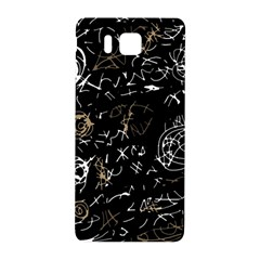Abstract mind - brown Samsung Galaxy Alpha Hardshell Back Case