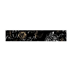 Abstract mind - brown Flano Scarf (Mini)