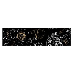 Abstract mind - brown Satin Scarf (Oblong)