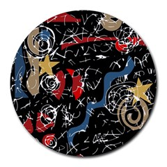 Confusion Round Mousepads