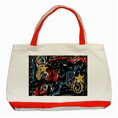 Confusion Classic Tote Bag (Red)